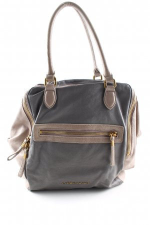 Liebeskind Shoulder Bag light grey-natural white business style