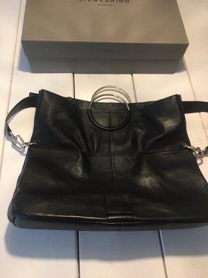 Liebeskind Shopper black leather