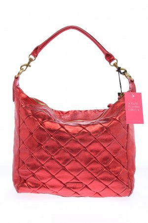 Liebeskind Shopper rouge motif de courtepointe style décontracté