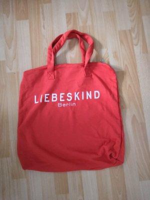 Liebeskind Berlin Canvas Bag orange