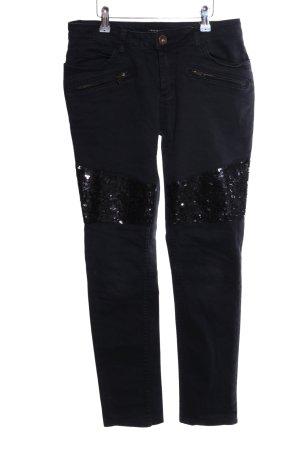 Liebeskind Stretch Jeans black glittery