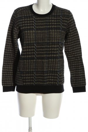 Liebeskind Sweatshirt motif à carreaux style décontracté