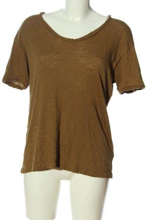 Liebeskind T-Shirt braun Casual-Look