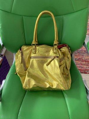 Liebeskind Handbag gold-colored leather