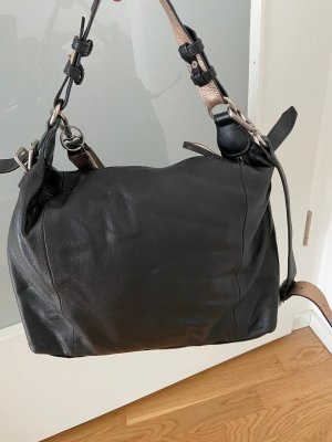 Liebeskind Shoulder Bag rose-gold-coloured-black leather