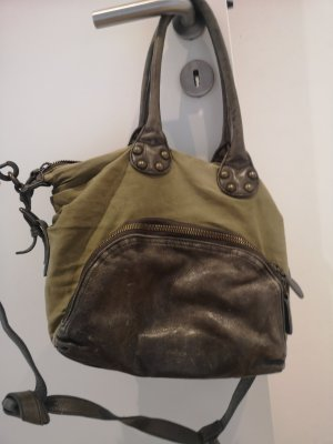 Liebeskind Crossbody bag green grey-khaki
