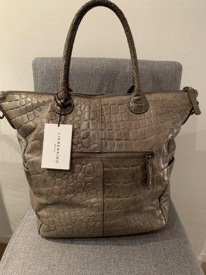 Liebeskind Shopper green grey leather