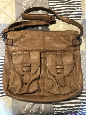 Liebeskind Crossbody bag camel leather