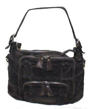 Liebeskind Handbag dark brown suede