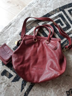 Liebeskind Handbag carmine leather