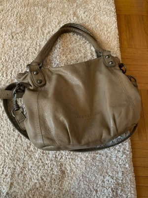 Liebeskind Carry Bag grey-grey brown leather
