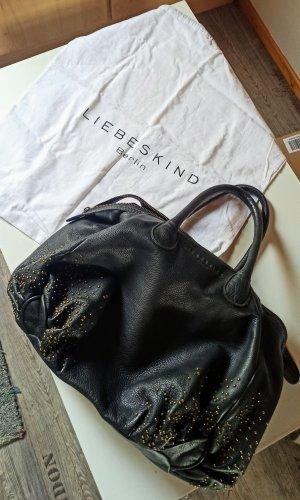 Liebeskind Tasche in Schwarz mit goldenen Details