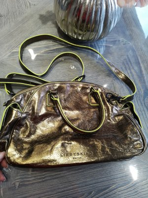 Liebeskind Handbag bronze-colored-neon yellow