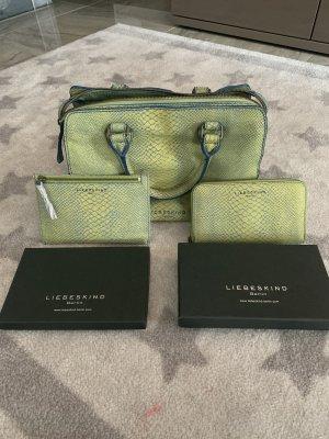 Liebeskind Tasche mit passender Geldbörse und mini Tasche