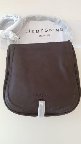 Liebeskind Berlin Handbag dark brown leather