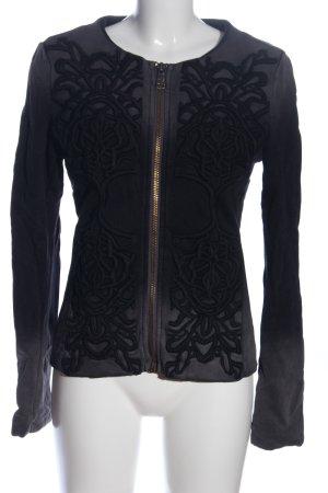 Liebeskind Between-Seasons Jacket light grey-black color gradient casual look