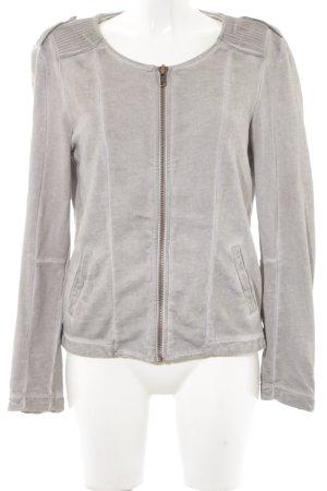 Liebeskind Between-Seasons Jacket grey brown biker look