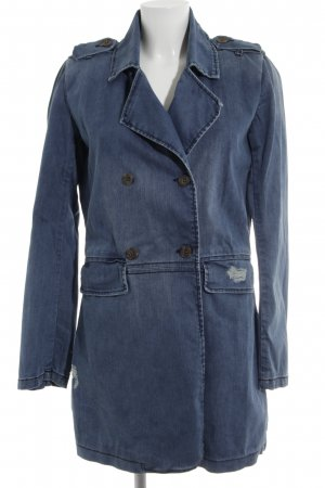Liebeskind Between-Seasons-Coat blue casual look