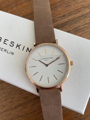 Liebeskind Uhr hellbraun /Roségold