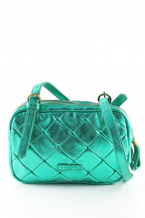 Liebeskind Crossbody bag green quilting pattern elegant