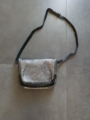 Liebeskind Bandolera negro-color plata