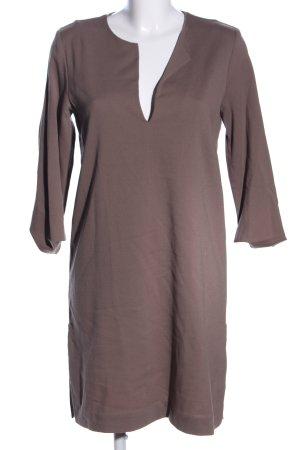 Liebig Blusenkleid braun Casual-Look