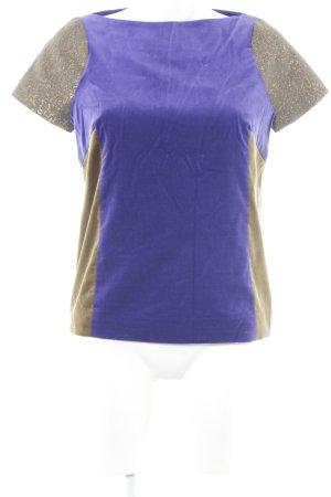 Liebig Blouse à manches courtes multicolore style extravagant