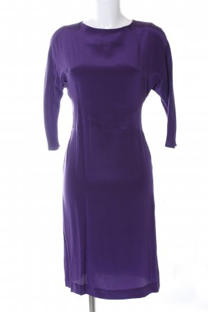 Liebig Langarmkleid dunkelviolett Business-Look
