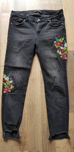 Trafaluc by Zara Skinny jeans zwart