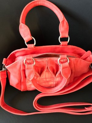 Fritzi aus preußen Handbag salmon-silver-colored