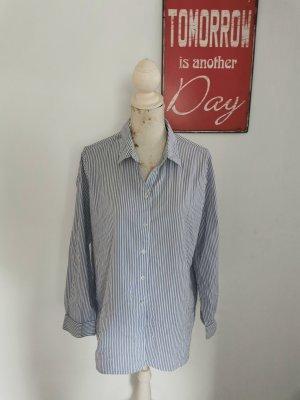 Lieblingsstück Shirt Blouse white-blue