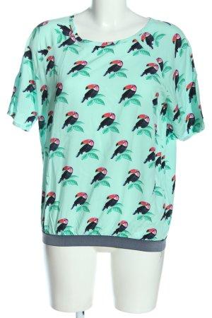 Lieblingsstück Short Sleeved Blouse allover print casual look