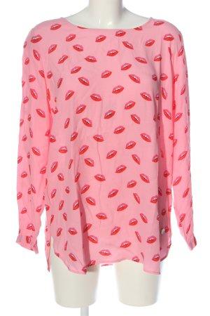 Lieblingsstück Long Sleeve Blouse pink allover print casual look