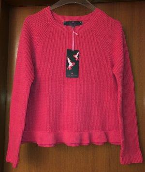 Lieblingsstück Pullover AnnieL rosa hibiscus 42 Neu