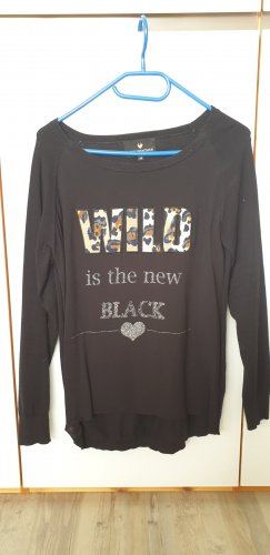 Lieblingsstück Jersey de lana negro Algodón