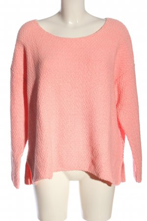 Lieblingsstück Strickpullover pink Casual-Look
