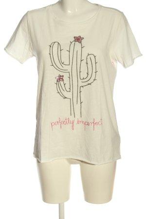 Lieblingsstück T-Shirt natural white themed print casual look