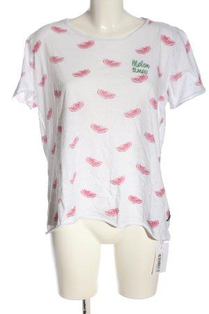 Lieblingsstück T-Shirt white-pink allover print casual look