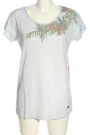 Lieblingsstück T-Shirt white-green themed print casual look