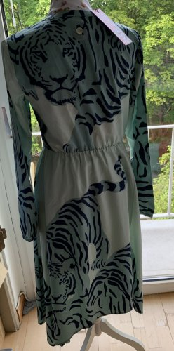 Lieblingsstück Tiger Kleid in Türkistönen NEU Gr.S
