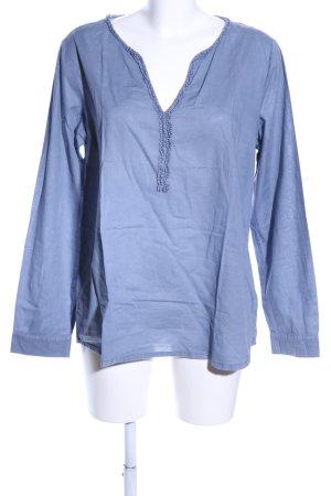 Lieblingsstück Tunikabluse blau Casual-Look