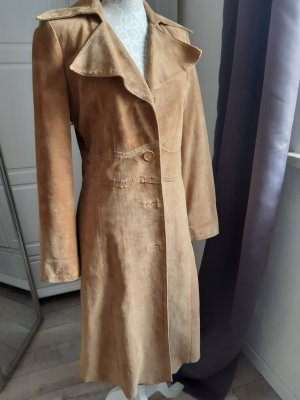 Clothes Leather Coat sand brown leather