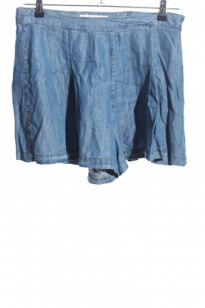 Minirock blau Casual-Look