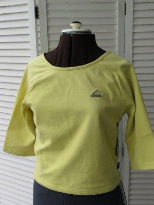 Adidas Maglietta sport giallo pallido