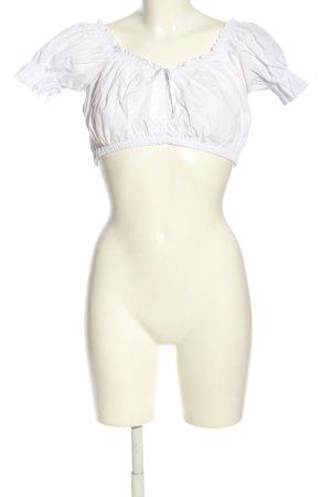 Lifos Trachtenbluse weiß Elegant