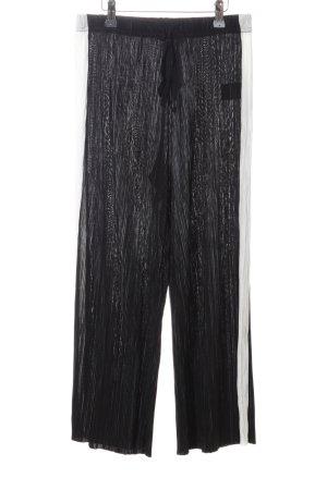 Light Before Dark Culottes schwarz-wollweiß extravaganter Stil
