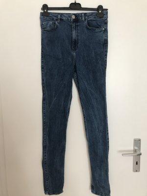 Light Before Dark High Waist Skinny Jeans mittelblau, 27/30