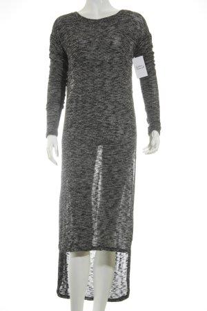 Light Before Dark Longpullover schwarz-grau meliert Street-Fashion-Look