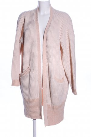 Light Before Dark Strick Cardigan creme-nude Zopfmuster Casual-Look