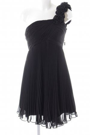 Light In The Box One-Shoulder-Kleid schwarz Elegant
